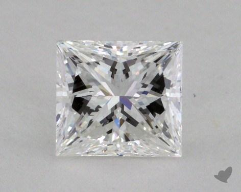 2.05 Carat E-VS1 Princess Cut  Diamond