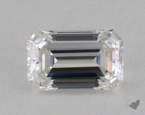 1.05 Carat G-IF Emerald Cut Diamond