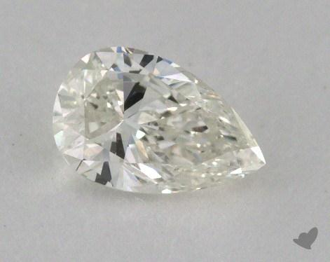 0.51 Carat H-VS2 Pear Cut Diamond