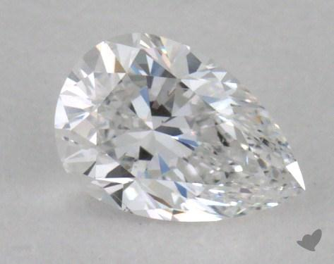 0.30 Carat D-VS2 Pear Shape Diamond