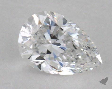 0.30 Carat D-VS2 Pear Shape Diamond