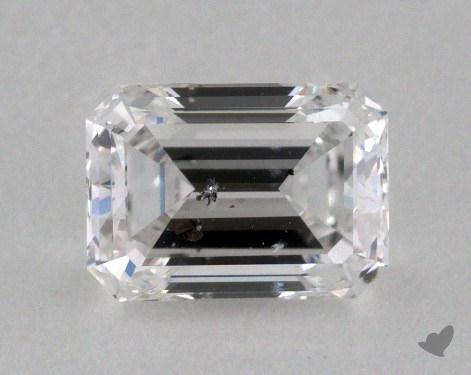 0.73 Carat E-I1 Emerald Cut  Diamond