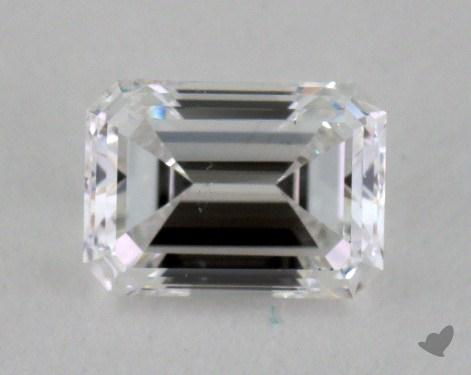 0.54 Carat D-SI2 Emerald Cut Diamond