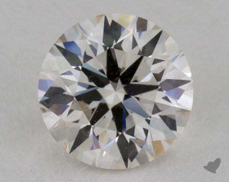1.09 Carat J-VVS1 Excellent Cut Round Diamond