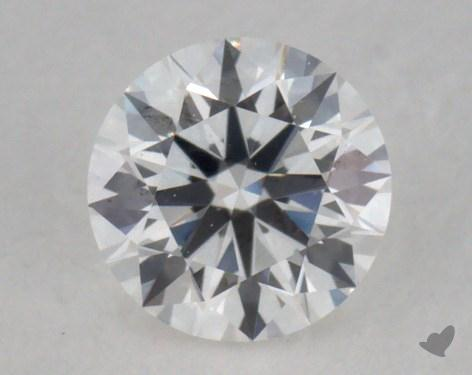 0.25 Carat E-VVS1 Excellent Cut Round Diamond