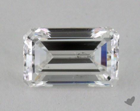 0.70 Carat E-SI2 Emerald Cut Diamond