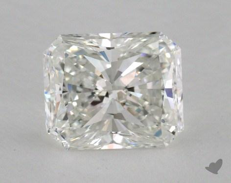 4.04 Carat H-VS2 Radiant Cut Diamond