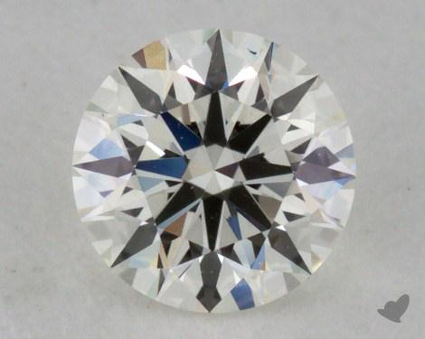 0.34 Carat I-IF Excellent Cut Round Diamond
