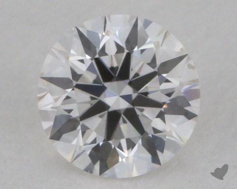 0.30 Carat F-SI1 Excellent Cut Round Diamond
