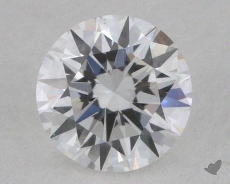 0.30 Carat D-VS2 Very Good Cut Round Diamond