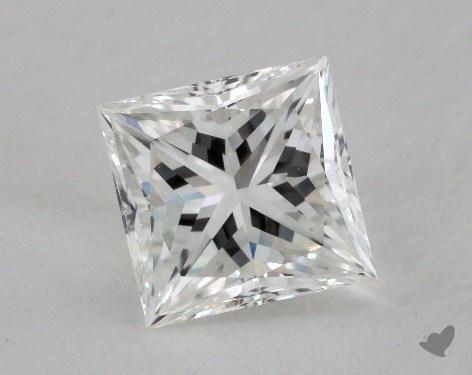 2.02 Carat G-VVS1 Ideal Cut Princess Diamond
