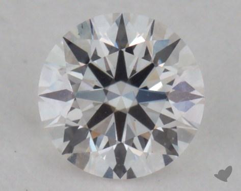 0.27 Carat F-VS1 Very Good Cut Round Diamond