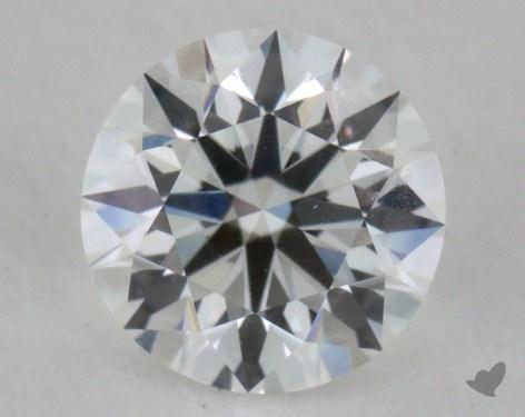 0.54 Carat F-VVS1 Excellent Cut Round Diamond