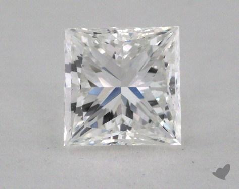 2.00 Carat E-VS1 Ideal Cut Princess Diamond