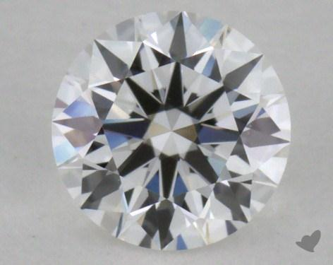 0.40 Carat E-VVS2 Excellent Cut Round Diamond 