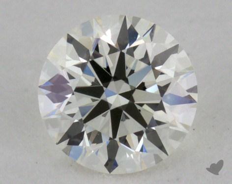 0.40 Carat J-VVS2 Excellent Cut Round Diamond