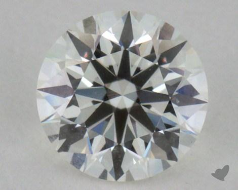 0.44 Carat I-IF Excellent Cut Round Diamond