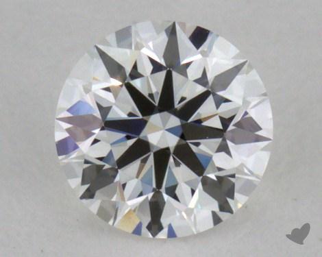 0.31 Carat F-VVS2 Excellent Cut Round Diamond