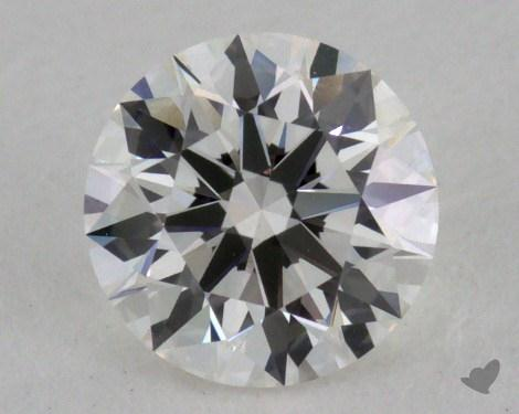 0.42 Carat G-VVS2 Excellent Cut Round Diamond