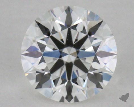 0.40 Carat F-VVS2 Excellent Cut Round Diamond