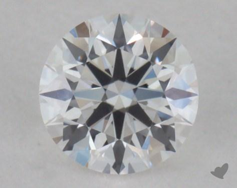 0.26 Carat E-VVS2 Excellent Cut Round Diamond