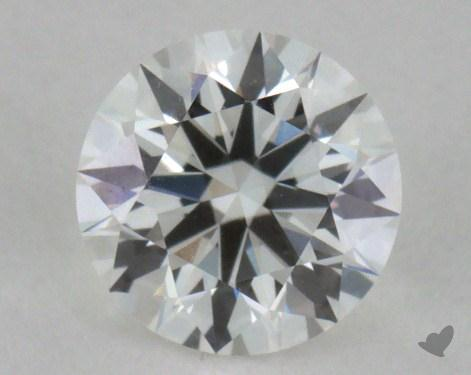 0.36 Carat F-VVS2 Excellent Cut Round Diamond