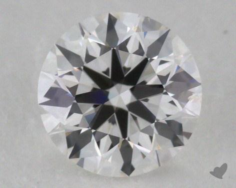 0.41 Carat F-SI2 Excellent Cut Round Diamond