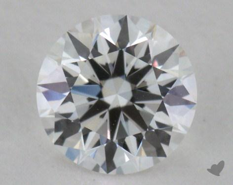 0.52 Carat E-VVS1 Excellent Cut Round Diamond