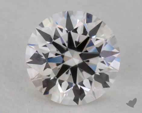 0.53 Carat G-VVS1 Excellent Cut Round Diamond
