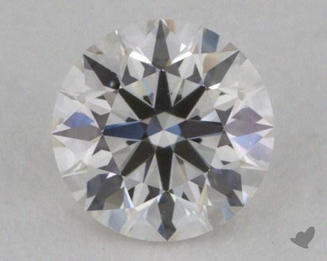 0.40 Carat H-VVS1 Excellent Cut Round Diamond