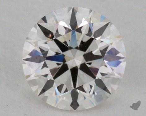 0.58 Carat I-VVS2 Excellent Cut Round Diamond