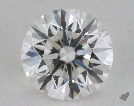 0.51 Carat F-VVS1 Excellent Cut Round Diamond