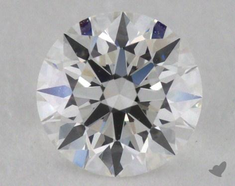 0.51 Carat F-VS1 Excellent Cut Round Diamond