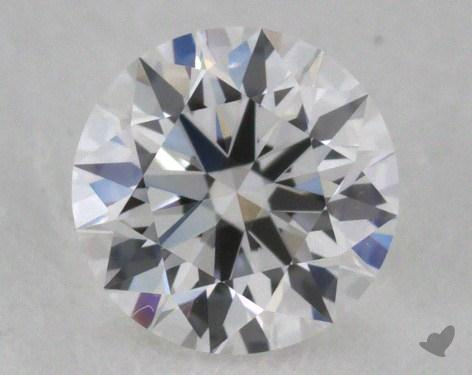 0.41 Carat F-VVS1 Excellent Cut Round Diamond