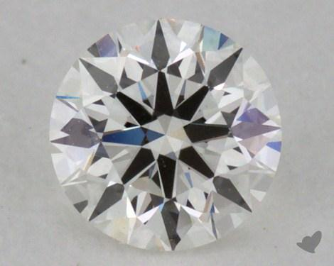 0.30 Carat H-IF Excellent Cut Round Diamond