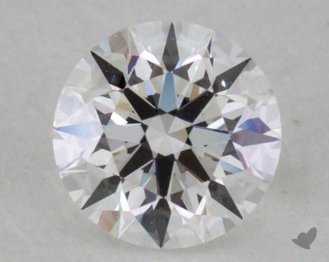 0.30 Carat E-VVS2 Very Good Cut Round Diamond
