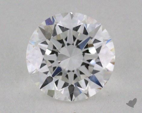 0.70 Carat E-VVS1 Very Good Cut Round Diamond