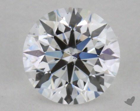 0.37 Carat D-SI1 Excellent Cut Round Diamond