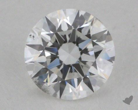 0.40 Carat E-SI1 Very Good Cut Round Diamond