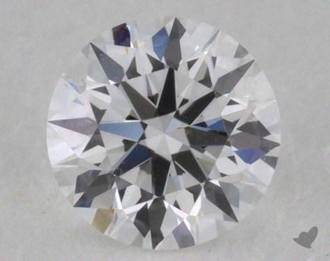 0.33 Carat E-VS2 Excellent Cut Round Diamond