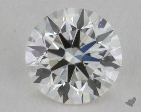 0.58 Carat H-VVS1 Very Good Cut Round Diamond
