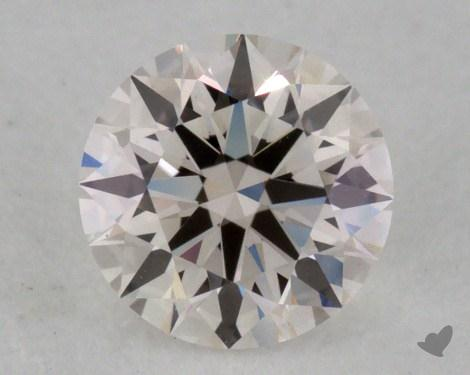 0.34 Carat G-VVS2 Excellent Cut Round Diamond