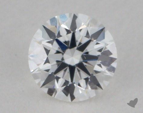 0.25 Carat E-VVS2 Excellent Cut Round Diamond