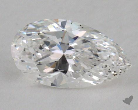 0.63 Carat E-SI2 Pear Cut Diamond
