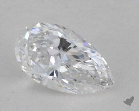 0.38 Carat D-IF Pear Cut Diamond
