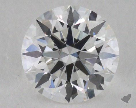 0.53 Carat F-VS1 Excellent Cut Round Diamond