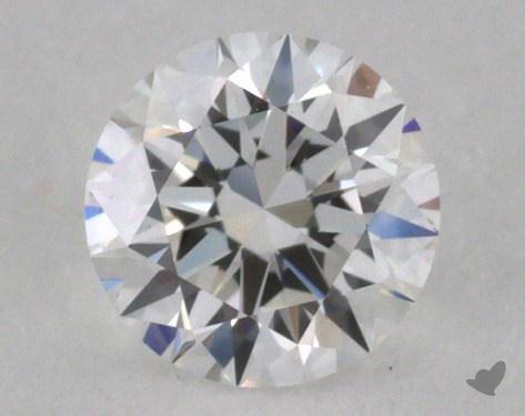 0.30 Carat E-VVS2 Excellent Cut Round Diamond