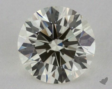 1.31 Carat K-VS1 Excellent Cut Round Diamond 