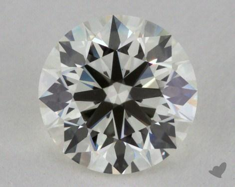 1.27 Carat K-VS1 Excellent Cut Round Diamond
