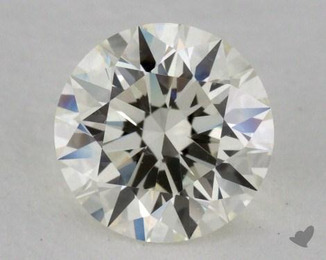 1.12 Carat K-IF Excellent Cut Round Diamond